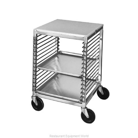 Channel Manufacturing 567/P Prep Cart Pan Rack w Work Top