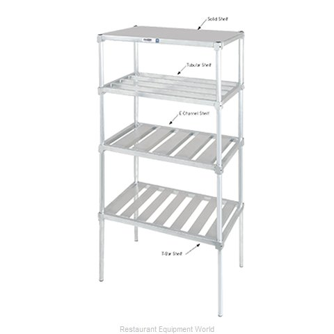 Channel Manufacturing BA2448 Shelving, T-Bar