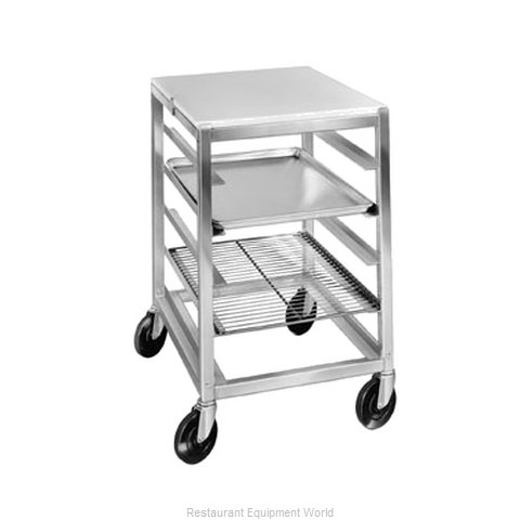 Channel Manufacturing BPRE-6/P Prep Cart Pan Rack w Work Top