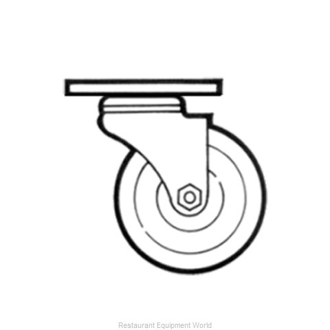Channel Manufacturing CPS28U Casters