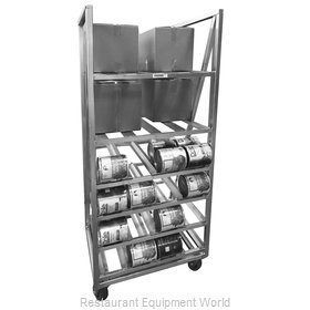 Channel Manufacturing CSBR-80 Can Storage Rack