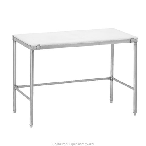 Channel Manufacturing CT260 Work Table, Poly Top
