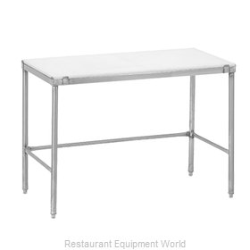 Channel Manufacturing CT372 Work Table, Poly Top