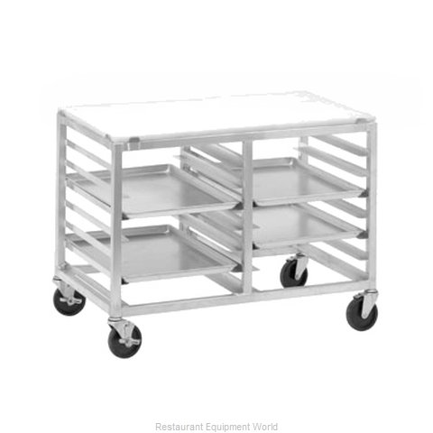Channel Manufacturing DS2414/P Pan Rack with Work Top, Mobile