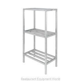 Channel Manufacturing ED2448-3 Shelving Unit, Tubular