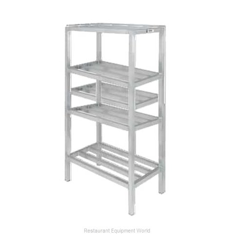 Channel Manufacturing ED2448-4 Shelving Unit, Tubular