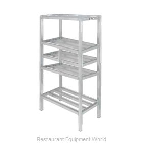 Channel Manufacturing ED2460-4 Shelving Unit, Tubular