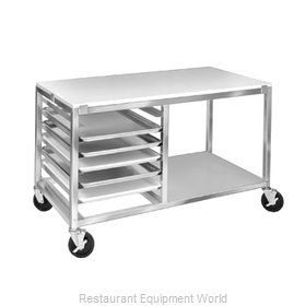 Channel Manufacturing MW245/P Pan Rack with Work Top, Mobile