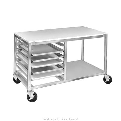 Channel Manufacturing MW247/P Prep Cart Pan Rack w Work Top