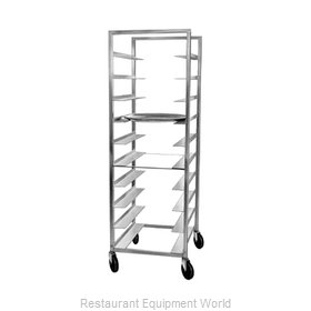 Channel Manufacturing OT-6 Oval Tray Storage Rack, Mobile