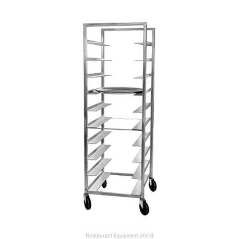 Channel Manufacturing OT-63 Oval Tray Storage Rack, Mobile