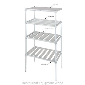 Channel Manufacturing SA2460 Shelving, Solid