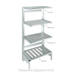 Channel Manufacturing SC2436 Shelving, Solid Cantilevered