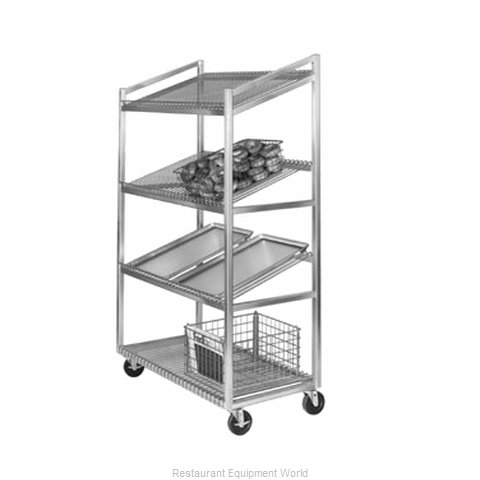 Channel Manufacturing SORT-4 Display Rack, Mobile