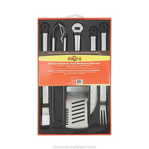 Chef Master 02147X Barbecue Grill Utensils (Magnified)