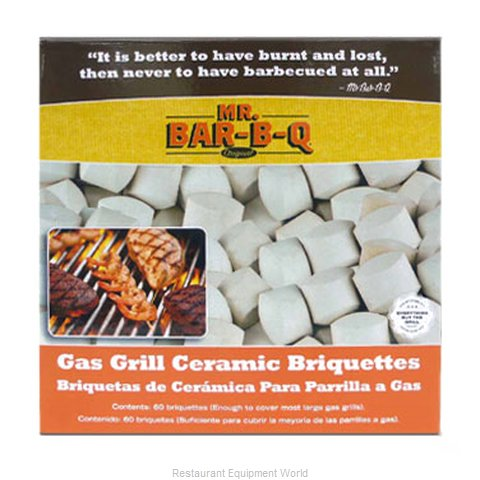 Chef Master 06000X Charcoal Briquettes Char Rocks (Magnified)
