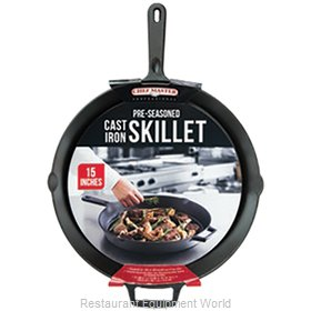 Chef Master 90205 Cast Iron Fry Pan