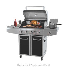 Chef Master GBC1273SP Charbroiler, Gas, Outdoor Grill