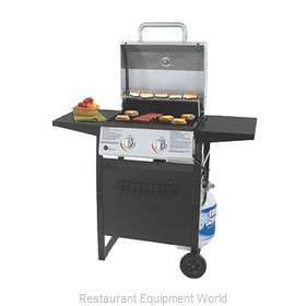 Chef Master GBC1405SP Charbroiler, Gas, Outdoor Grill