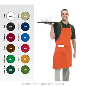 Chef Revival 601BAC-BK Bib Apron