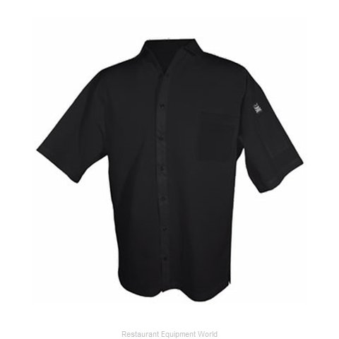 Chef Revival CS006BK-2X Cook's Shirt
