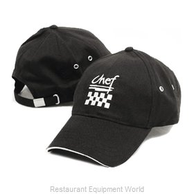 Chef Revival H064BK Chef's Cap