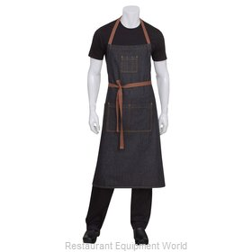 Chef Works AB036BLK0 Bib Apron