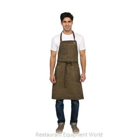Chef Works ABAQ054GBN0 Bib Apron
