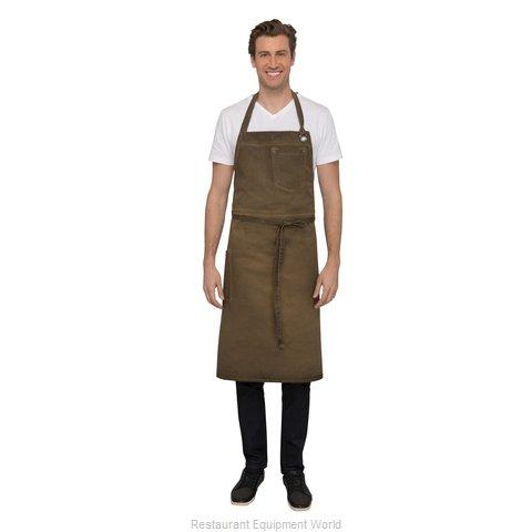 Chef Works ABCAQ004GBN0 Bib Apron