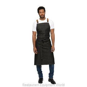 Chef Works ACS01BLK0 Bib Apron