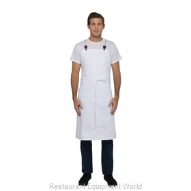 Chef Works ACS01WHT0 Bib Apron
