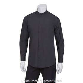 Chef Works B100BLKL Dress Shirt