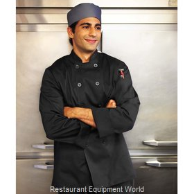 Chef Works BASTBLK7XL Chef's Coat