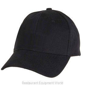 Chef Works BCSOBLK0 Chef's Cap