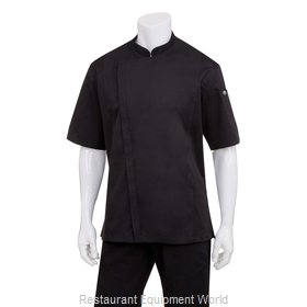 Chef Works BCSZ009BLK3XL Chef's Coat