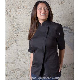 Chef Works BCWSZ006BLKM Chef's Coat