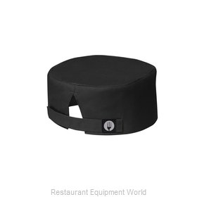 Chef Works BEANBLK0 Chef's Cap