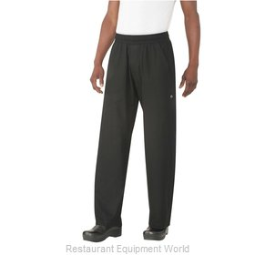Chef Works BSOLBLK3XL Chef's Pants
