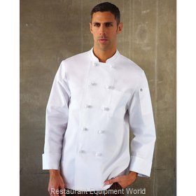 Chef Works CBCCWHTS Chef's Coat