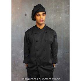 Chef Works COBLBLK3XL Chef's Coat