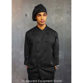 Chef Works COBLBLKM Chef's Coat