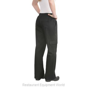 Chef Works CPWOBLKXL Chef's Pants
