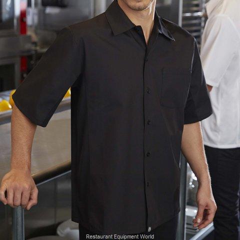 Chef Works CSCVBLK3XL Cook's Shirt