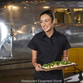 Chef Works CSWVBLKXS Cook's Shirt