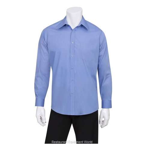 Chef Works D100FRBL Dress Shirt
