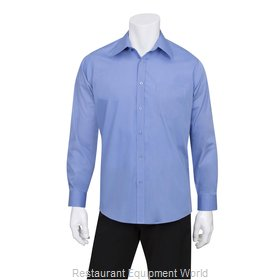 Chef Works D100FRBL Dress Shirt