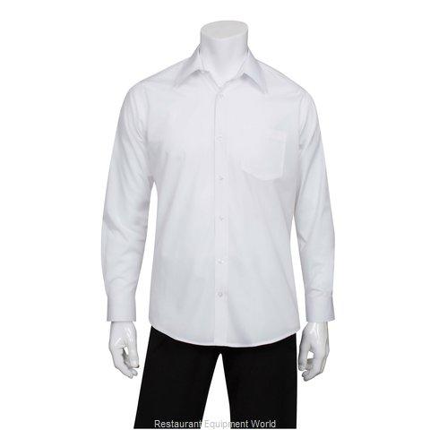 Chef Works D100WHTM Dress Shirt
