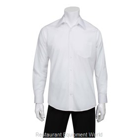 Chef Works D100WHTS Dress Shirt