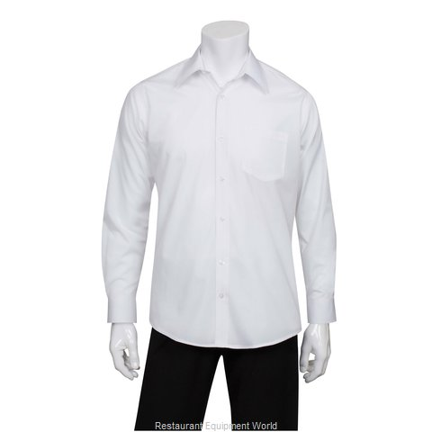 Chef Works D100WHTXL Dress Shirt