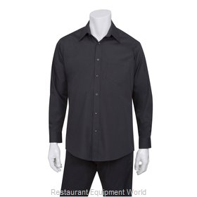 Chef Works D150BLK4XL Dress Shirt